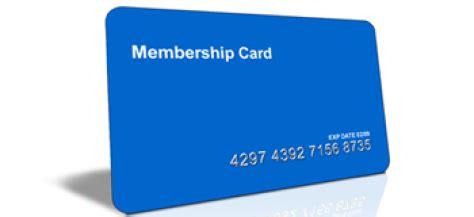 how to make membership cards membership cards