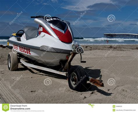 water scooter san diego waverunner on san diego beach stock photo image 3468520