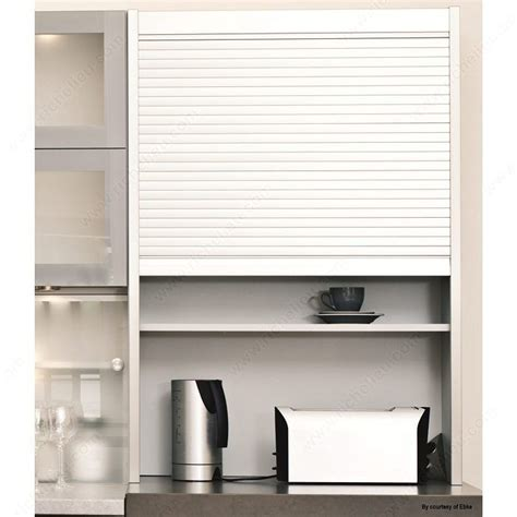 Tambour Cabinet Door Kit Tambour Door Kit With Exact Widths Stainless Steel Finish 25 Mm Kitamb24ss25mm Richelieu