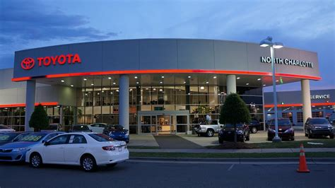 toyota dealerships nearby toyota of north charlotte wsoc tv