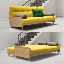 Design Ideas For Leather Futons 25 Best Ideas About Sofa Beds On Sleeper Ikea Sofa Bed And Attic Room