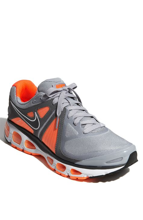 nike grey running shoes nike air max tailwind 4 running shoe in gray for