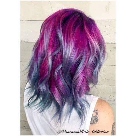pictures of people who colored their hair with loreal feria b16 17 best ideas about galaxy hair color on pinterest
