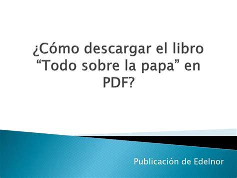 pasos para la descarga del libro en pdf by edelnor publicaciones issuu