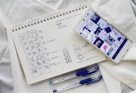 instagram post by rc ritacyc journal journaling and instagram in my bullet journal cohesive feed planner