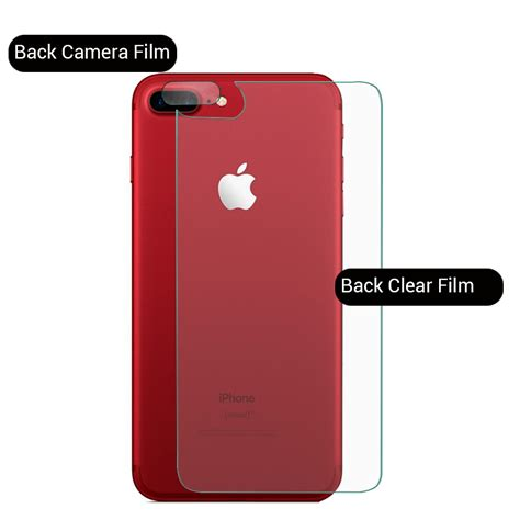 Tempered Glass Iphone 7 Plus Cover Screen Protector 7 Plus Hitam 3d cover front back tempered glass screen protector for iphone 7 plus ebay