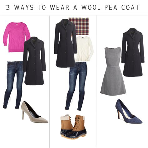 Wardrobe Essentials For In Their 30s by Wardrobe Essentials Wool Pea Coat In The Bubbleluv