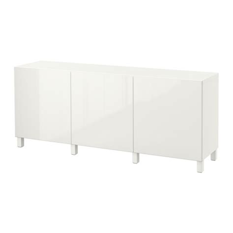 besta buffet ikea best 197 storage combination with doors white selsviken