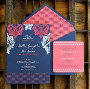 navy and coral wedding invitations 17 best ideas about coral invitations on coral