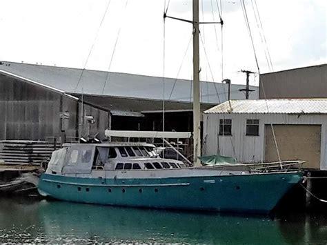 motor sail boats for sale australia motorsailer 81 steel and aluminium motor sailer 25m for