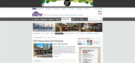 Home And Garden Giveaway - home and garden sweepstakes dream home entry for 2014 html autos weblog