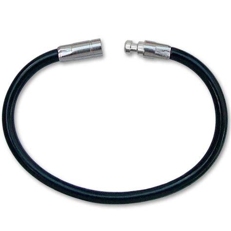 7 Key Rings by Xl Twisty Cable Key Ring 7 Inch Length Black Bulk Each