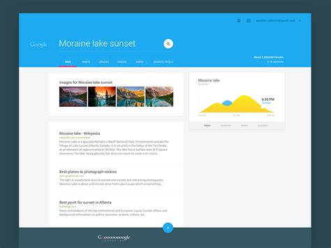 design inspiration search engine google material exploration by aur 233 lien salomon dribbble