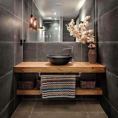 kleine badkamer hout trend 2018 badkamer ga voor grijs