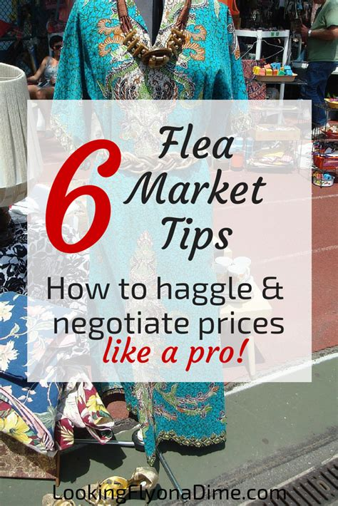 Tips For Flea Market Shopping by Flea Market Bargaining Tips Looking Fly On A Dime