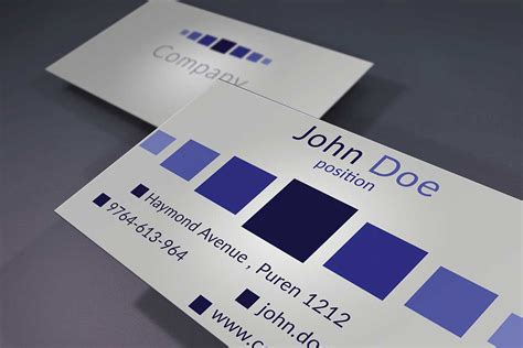 40 unique stylish psd corporate business card designs