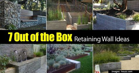 Design For Diy Retaining Wall Ideas Retaining Wall Ideas How To Use A Wonderful Landscape Tool