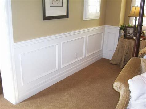 Faux Wainscoting by Walls Simple Ways To Install Faux Wainscoting Wallpaper