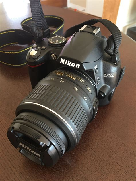 nikon d3000 dslr loanables nikon d3000 dslr w 18 55mm zoom 50mm 1 8g