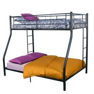affordable bunk beds black tubular steel metal bunk bed