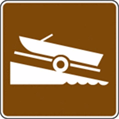 boat launch nearby service signs clipart etc