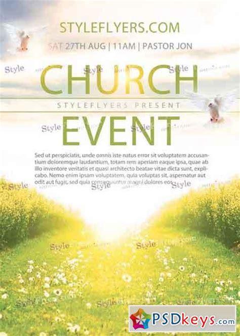 Church Flyer Templates Photoshop church event v1 psd flyer template 187 free