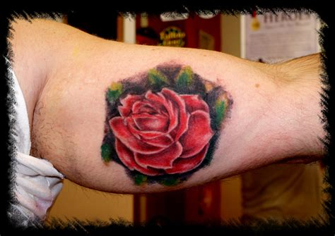 inner arm rose tattoo inner arm design tattoomagz