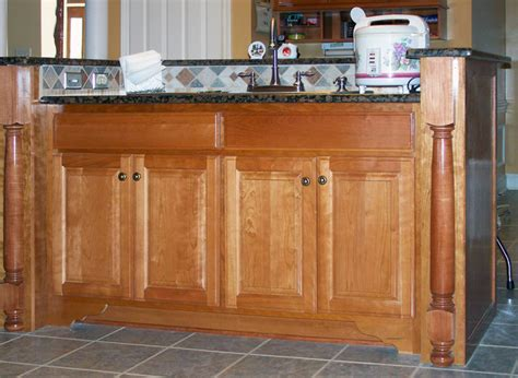 Custom Built Kitchen Island Custom Built Kitchen Islands Traditional By The Cabinet Wizard