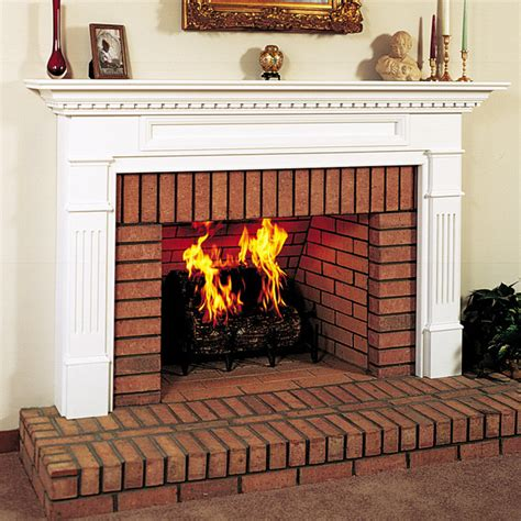 What Wood Is Best For Fireplace by Monticello Wood Fireplace Mantel Traditional Indoor