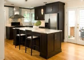 Hardwood Cabinets Kitchen by 52 Dark Kitchens With Dark Wood And Black Kitchen Cabinets