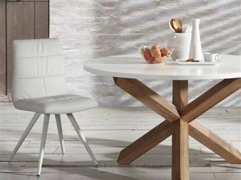 Base Table Ls Australia by Rnd Dining Table White Laminated Top With A Timber Base