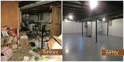 before and after basement the hoarder house rehab powerhouse properties llc