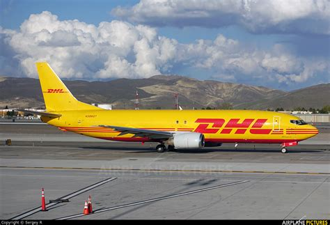 n306gt dhl cargo boeing 737 400sf at reno tahoe photo id 889248 airplane pictures net
