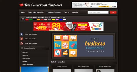 template dalam powerpoint adalah 10 situs powerpoint yang bisa bikin presenrtasimu makin keren