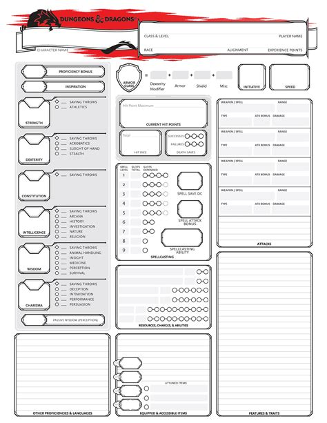 dungeons and dragons templates d d 5e player handouts writing story relatable sad