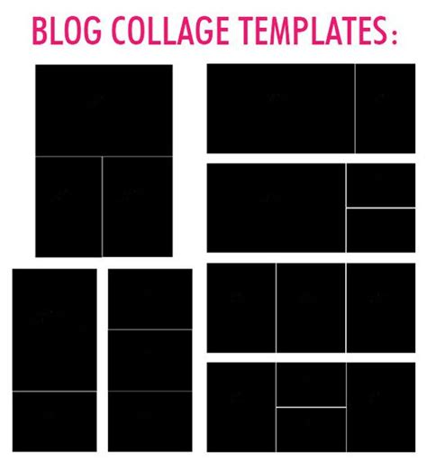 Card Templates 4 Picture Collage by Lightroom Collage Templates Bp4u Guides