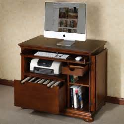 compact computer desk with storage whitevan