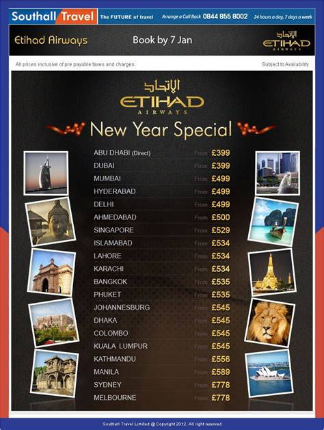 new year airfare sale new year special world wide fares sale