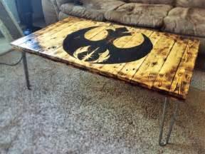 Star wars pallet coffee table geek crafts