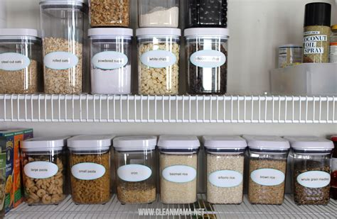Pantry Food Storage Containers by 6 Simple Things You Can Do Today To Clean Organize Your
