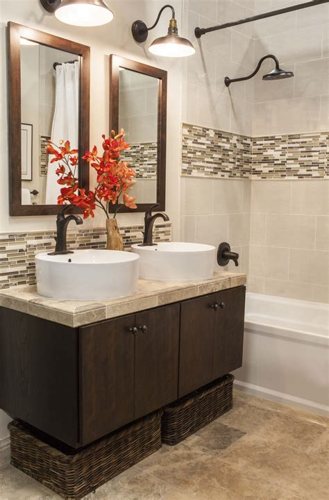 Bathroom Accent Wall Ideas by Accent Tile Bathroom On Vertical Shower Tile