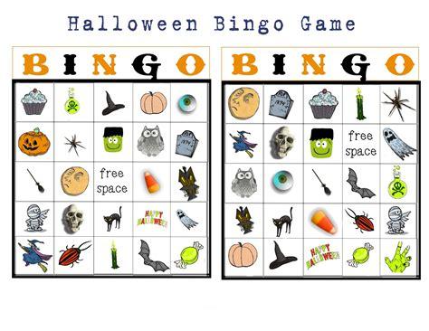 printable halloween bingo cards with pictures bingo buttercup designs free halloween picture bingo
