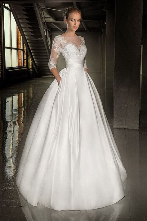 Wedding Gown Satin by Sweet Wedding Gown With Beaded Beautiful Lace