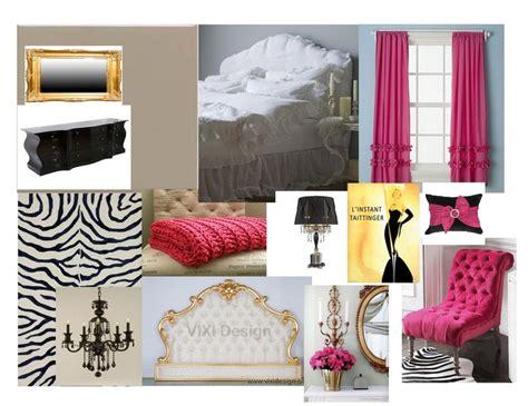 pink black and gold bedroom pink black gold glam bedroom
