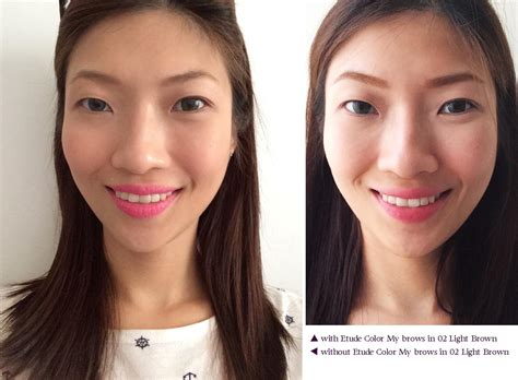 Gwen Lightens Up Brows It Or It by Product Review Etude House Color My Brows In 02 Light