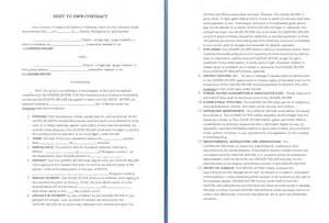land rental contract template free contract templates word pdf agreements
