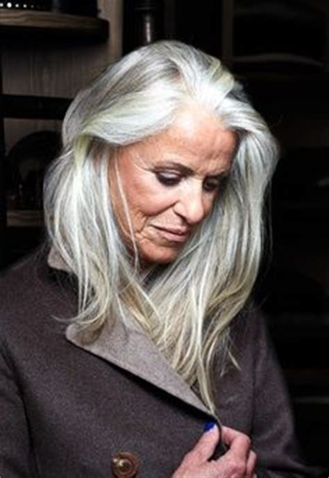 grey hair in 50 year old tips to choose hairstyles for 50 year old women