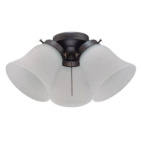 3 light ceiling fan westinghouse 3 light led cluster ceiling fan light kit