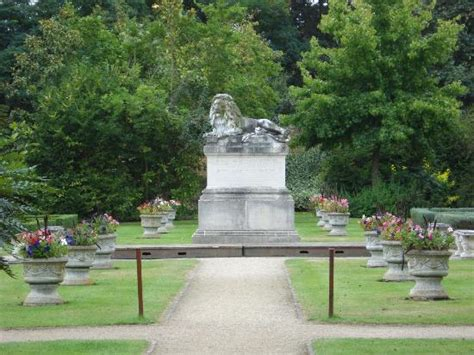 statue viewed from gazebo picture of sunbury park