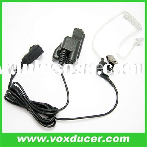 Earbud Earkube 20 two way radio clear earpieces headset earphone hre 4040 with microphone for sepura
